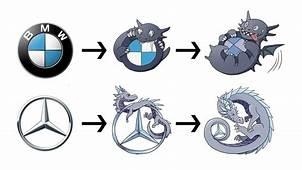 What If Famous Car Logos Were Pokemon Evolution  YouTube