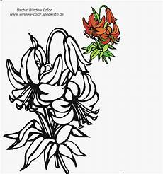 Malvorlagen Fensterbilder Blumen Blumen Vorlagen 1 Coloring Pages Color
