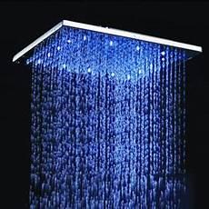 soffione led doccia soffione per doccia con led luminosi boiserie in