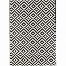 tapis salon graphique tapis de salon tiss 233 plat ethnic 120x170 cm achat