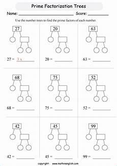 year 6 maths worksheet factors kidz activities