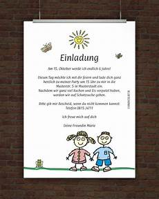 Einladung Kindergeburtstag Text Ideen - kindergeburtstagseinladung mit einladungstext free