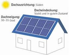 Solaranlagen Auf Dem Dach Gefahren Und voraussetzungen f 252 r solaranlagen 187 solarenergie richtig