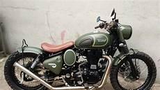 Modifikasi Motor Seperti Sepeda by Modifikasi Royal Enfield Milik Gibran Rakabuming Tidak