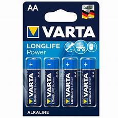 varta 4906 longlife power mignon batterie aa 4 st 252 ck