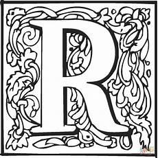 Ausmalbilder Buchstaben R Ausmalbild Der Buchstabe R Ausmalbilder Kostenlos Zum