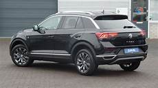 Volkswagen New 2018 T Roc Sport Black Pearl 17 Inch