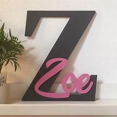 Kinder Malvorlagen Buchstaben Xl Xl Buchstabe Mit Name F 252 R Das Kinderzimmer Geschenk
