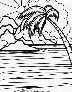Gratis Malvorlagen Regenschirm Island Island Colouring Page Coloring Pages