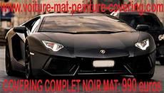 covering noir mat auto