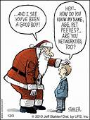 Photo Trick Funny Christmas And Santa Claus Cartoons Pictures