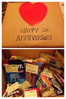 my first anniversary gift to my boyfriend sweet