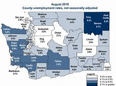 state of washington unemployment rate