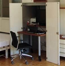 Schreibtisch Im Schrank Integriert - schrank mit integriertem bett und schreibtisch 187 h 228 fele