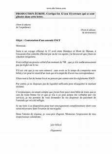 lettre de contestation d amende corriger contestation amende corrig 233
