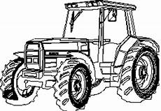 Gratis Malvorlagen Trecker Traktor Detailiert Ausmalbild Malvorlage Landschaften