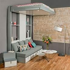 lits escamotables et lits mezzanines meubles gain de
