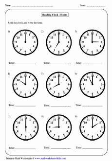 time by the hour worksheets for kindergarten 3601 great worksheets for telling time for year 1 2 for more worksheets visit the website