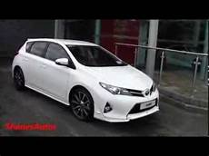 2014 toyota auris with the trd bodykit