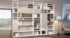 librerie mobili moderni libreria bifacciale componibile systema b nel 2019 home
