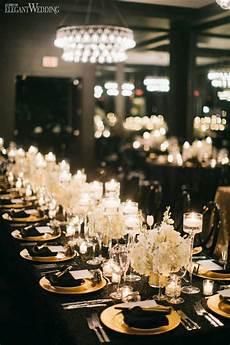 black and gold wedding inspiration gold wedding