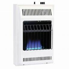 dyna glo 20 000 btu blue flame vent free lp wall heater bf20pmdg the home depot