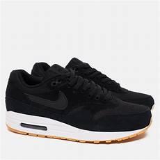 мужские кроссовки nike air max 1 essential black white gum