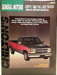 what is the best auto repair manual 1988 ford aerostar engine control chilton s general motors chevy gmc full size trucks 1988 93 repair manual part no8055 chilton s