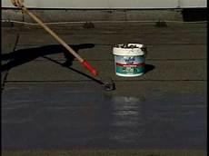 bitumen flüssig flachdach tutorial mem water stop abdichtung dach keller bad