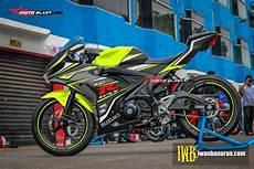 Gsx R150 Modif Moge by Modifikasi Striping Suzuki Gsx R150 Sporty All Varian