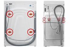die transportsicherung der waschmaschine das m 252 ssen sie