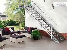 Treppe Kaufen - au 223 entreppe mit podest und stufen aus wpc jetzt kaufen