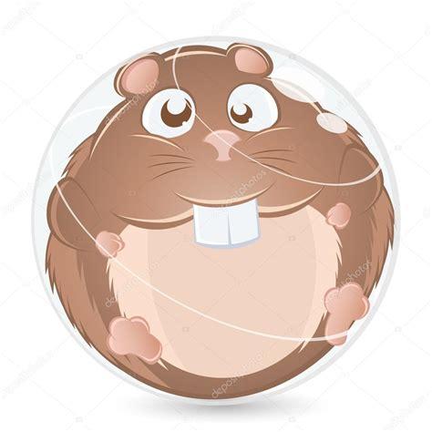 Tecknad Hamster