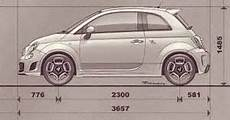 Fiat 500 Dimensions In Inches Gobebaba
