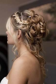 coiffure mariage chignon coiffure de mari 233 e boucles anglaises les plus jolies