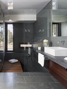 design inspiration modern bathroom dark gray studio mm architect