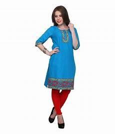 sy6da syda blue cotton printed kurti 3 4 th sleeve price in