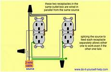 parallel wiring two outlets in one box in 2019 outlet wiring electrical outlets light switch