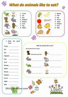 animals like worksheets 13941 what do animals like to eat esl worksheets of the day animals student centered
