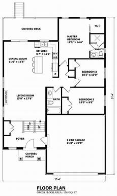 elevated bungalow house plans raised bungalow floor plans canada thefloors house plans