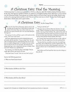 4th grade christmas worksheet festival collections