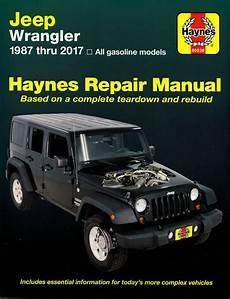 free car repair manuals 1995 jeep wrangler transmission control jeep wrangler repair shop manual 1987 2017 haynes 50030