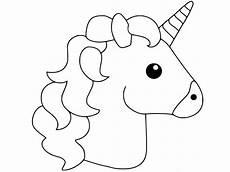 Malvorlagen Unicorn Malvorlagen Einhorn Leicht