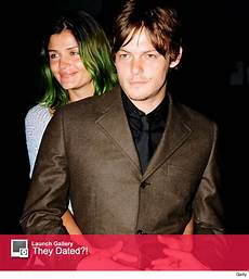 Norman Reedus Sohn - norman reedus attends basketball with mingus