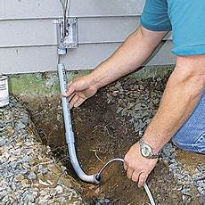 run new electrical wiring in backyard from existing wall outlet home improvement stack exchange