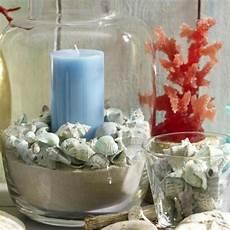 Gläser Dekorieren Mit Sand - coole kerzen ideen sommer meer figur glas sand velas