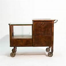 30er Jahre Deco Barwagen Beistelltisch Thonet Teewagen