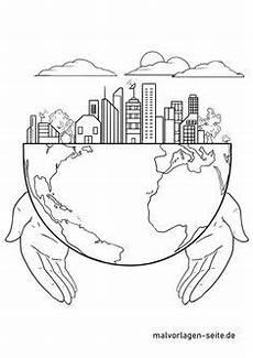 Malvorlagen Umwelt Sticker Malvorlage Tag Der Erde Malvorlagen Tag Der Erde Und