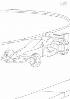 rennwagen malvorlagen pdf kinder zeichnen und ausmalen
