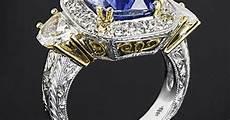 platinum quot queen elizabeth quot blue sapphire diamond right